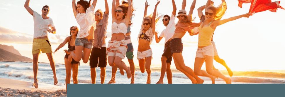 100 Urlaubsscheck Willkommen